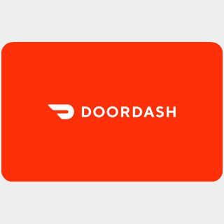 $25.00 DoorDash USD