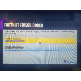 Fortnite Friend Codes (PS4) - PS4 Games - Gameflip