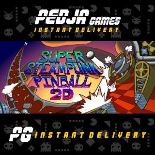 🎮 Super Steampunk Pinball 2D