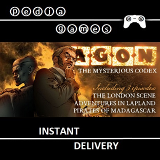 🎮 AGON - The Mysterious Codex (Trilogy) ⓟ-ⓖ