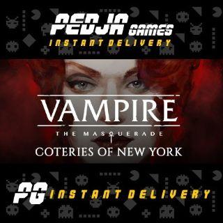 🎮 Vampire: The Masquerade - Coteries of New York