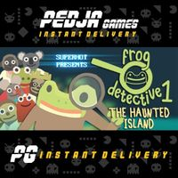 🎮 The Haunted Island, a Frog Detective Game