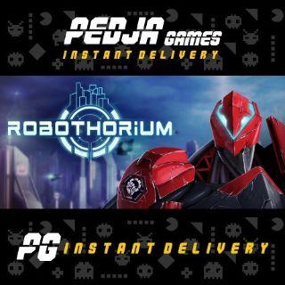 🎮 Robothorium: Cyberpunk Dungeon Crawler