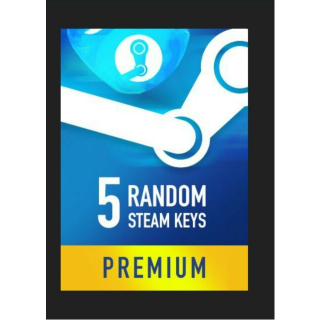 Random PREMIUM 5 Keys Steam Key GLOBAL