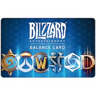 Blizzard GiftCard $50.00 USD