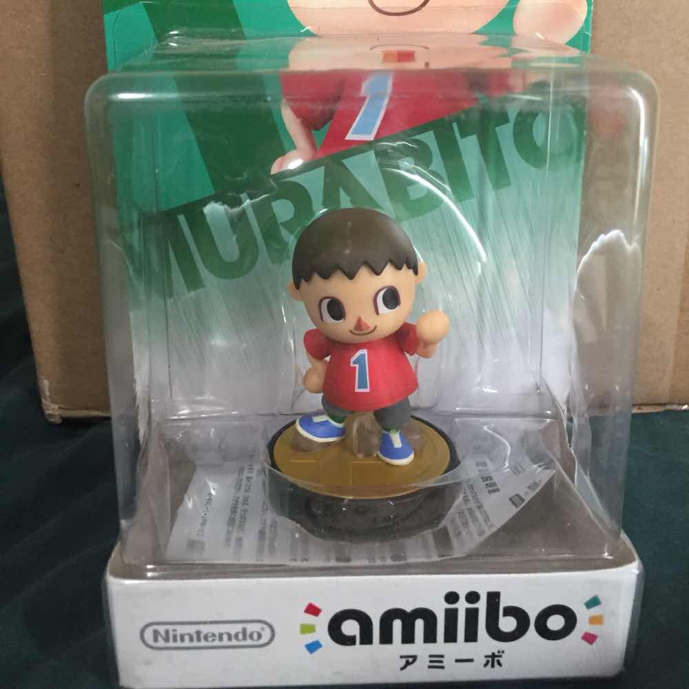 Villager Amiibo (Japanese Issue)