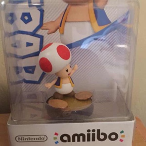 Custom Toad Fighter Amiibo