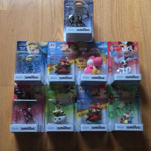 Amiibo lot of 9