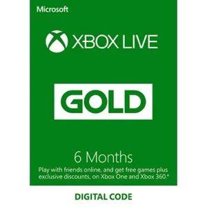 Xbox Gold 6 Month Membership[ 𝑰𝑵𝑺𝑻𝑨𝑵𝑻 𝑫𝑬𝑳𝑰𝑽𝑬𝑹𝒀  ]