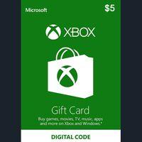 $5.00 Xbox Gift Card
