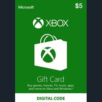 $5.00 Xbox Gift Card