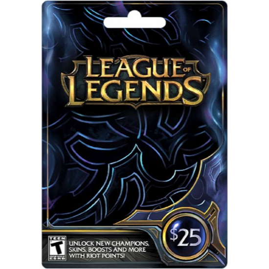 League Of Legends $25 - Other Gift Cards - Gameflip