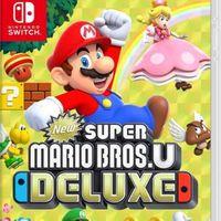 Super Mario Bros U Deluxe for Nintendo Switch (NEW)