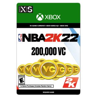 NBA 2K22: 200,000 VC, Take-Two 2K - US ONLY - INSTANLY DELIVERY - XBOX ONE , XBOX X/S