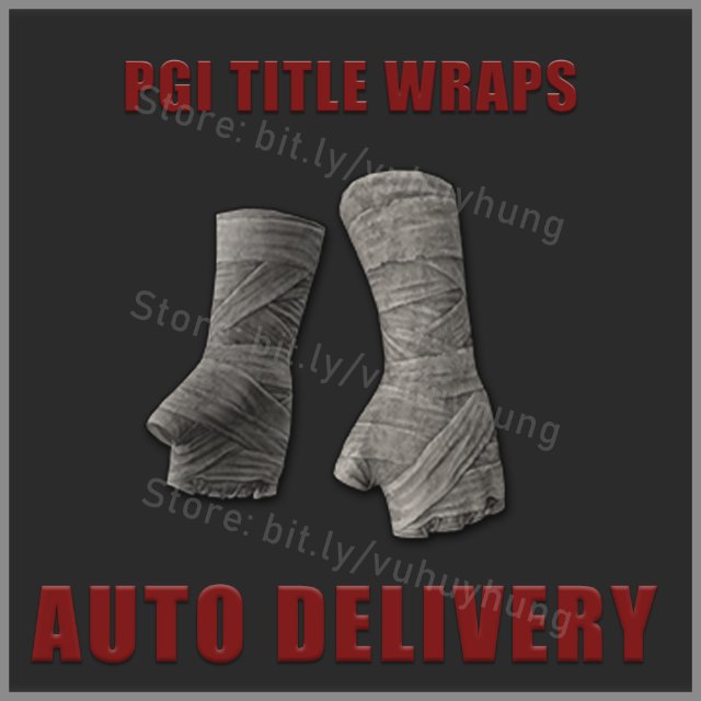Pgi Title Wraps Hands Gloves Instant Delivery Other