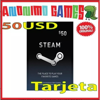 Steam $ 50.00 Steam 50 Original ¡All codes are verified before! USA ACCOUNTS ONLY
