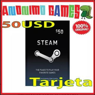 Steam $ 50.00 Steam 50 Works Worldwide Original ¡All codes are verified before!