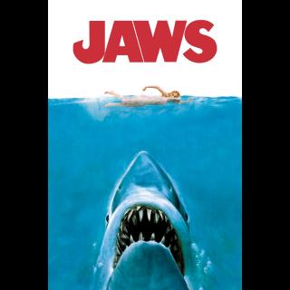 Jaws *4k/UHD* Movie Anywhere Redeem