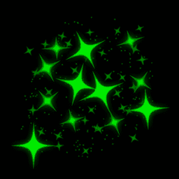 Sparkles   Forest Green