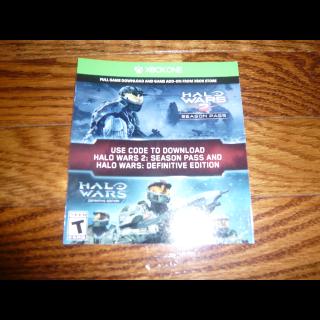 Halo Wars 2 Season Pass Definitive Edition DLC Ultimate