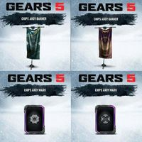 Gears 5 Chips Ahoy Promotion Set