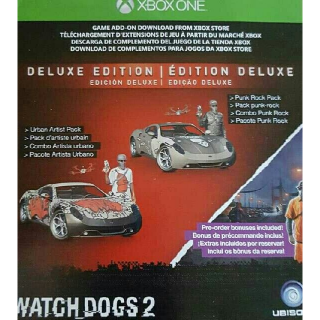 Watch Dogs 2 Deluxe Edition DLC + Preorder Bonus