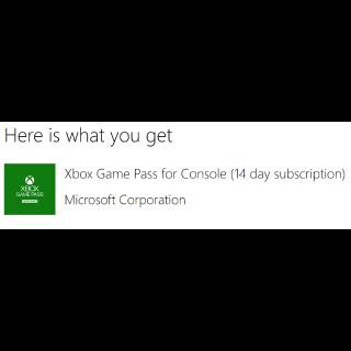 14 Days of Xbox Game Pass