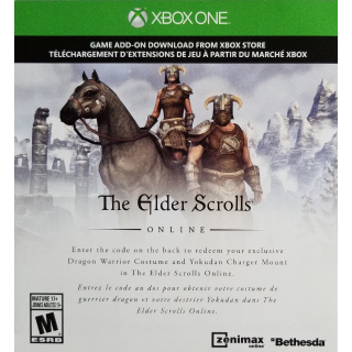 The Elder Scrolls Online Dragon Warrior Pack DLC