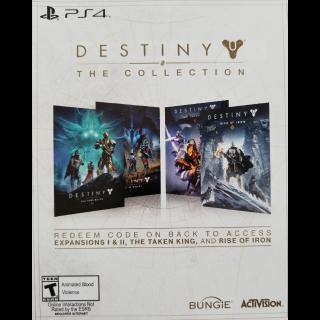 Destiny The Collection DLC