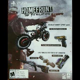 Homefront The Revolution Preorder Bonus