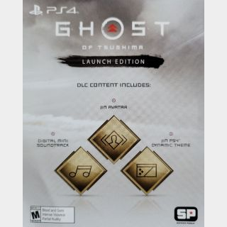 Ghost of Tsushima Preorder Bonus