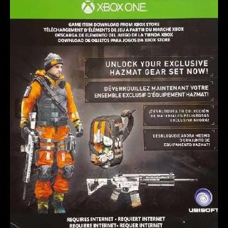 The Division Hazmat Gear Set DLC