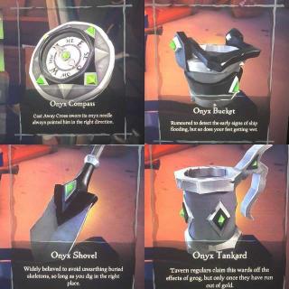 Sea Of Thieves Onyx Set