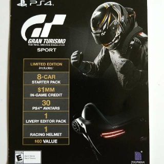 Gran Turismo Sport Limited Edition Upgrade