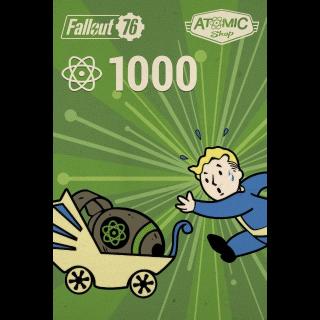 Fallout 76: 1,000 Atoms
