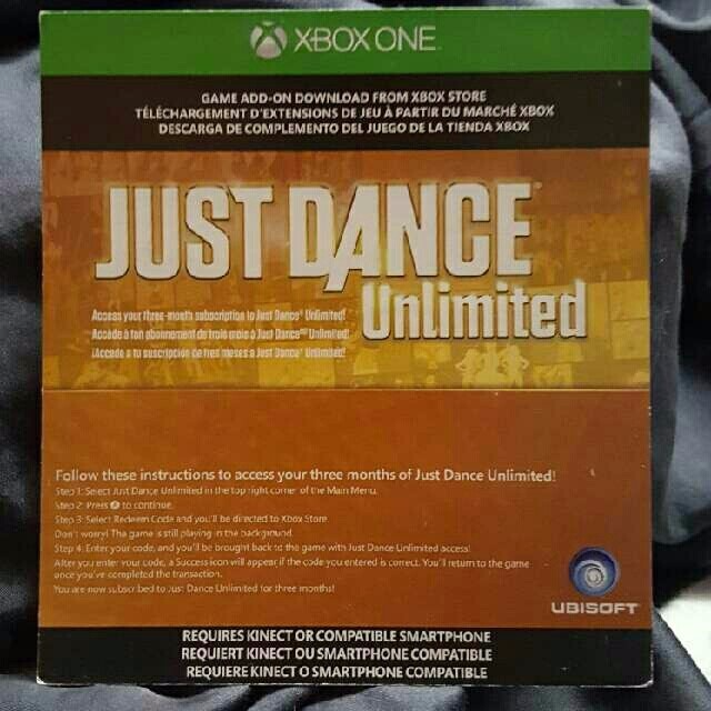 Just Dance Unlimited (3 Month Subscription) - XBox One Games