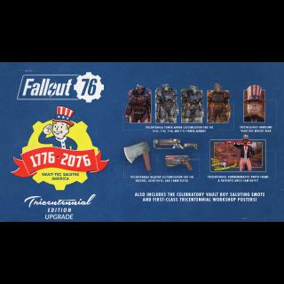 Fallout 76 Tricentennial Edition Content