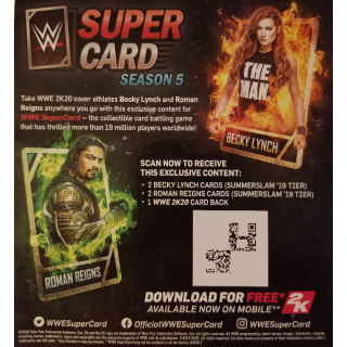 WWE Supercard - Roman Reigns and Becky Lynch