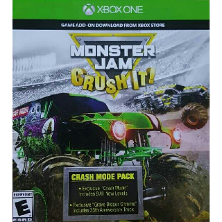 Monster Jam Crush It Crash Mode Pack