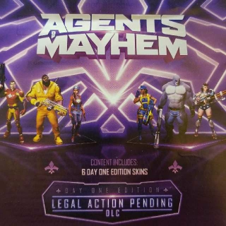 Agents Of Mayhem Preorder Bonus