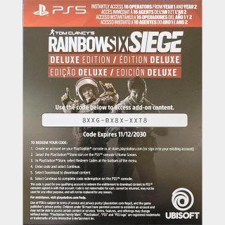 Rainbow Six Siege Deluxe Edition Upgrade