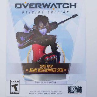 Noire Widowmaker Skin For Overwatch PC