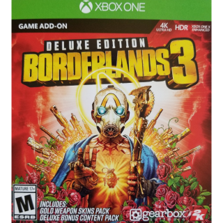 Borderlands 3 Deluxe Edition Content