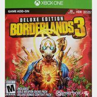 Borderlands 3 Deluxe Edition Content