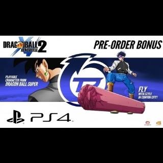 Dragonball Xenoverse 2 Preorder Bonus
