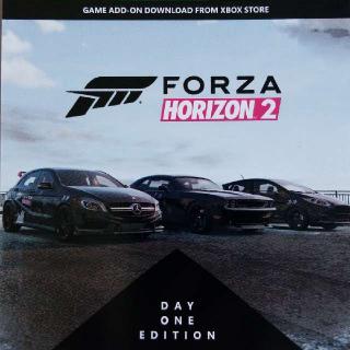 Forza Horizon 2 Preorder Bonus