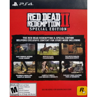 Red Dead Redemption 2: Special Edition Content