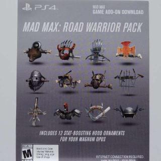 Mad Max Preorder Bonus