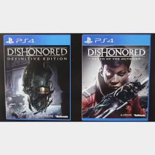 Dishonored + Death Of The Outsider Bundle