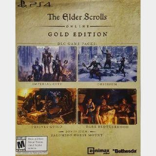Elder Scrolls online Gold Edition DLC